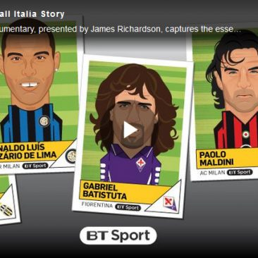 """Golazzo The Football Italia Story"" BT Sport March 2018 produced and directed by Tom Boswell"