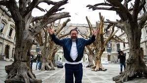 Ai Weiwei at the RA-Sky Arts Channel